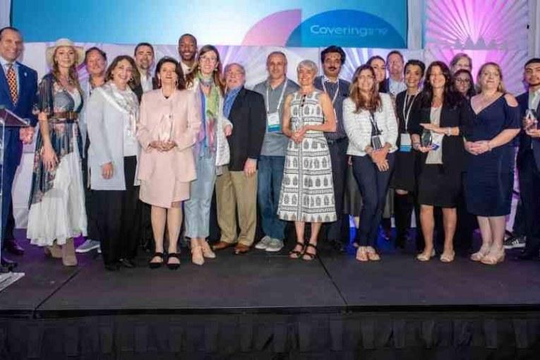 LATICRETE Wins 2019 Coverings Installation & Design (CID) Award