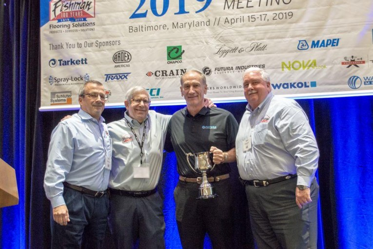 Fishman Flooring Honors Mapei, Futura's Doug Mayeux for Business Excellence