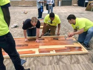 CFI Reaches the Youth in 1st Annual Build My Future: Flooring Edition
