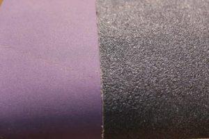 Close-up of abrasive