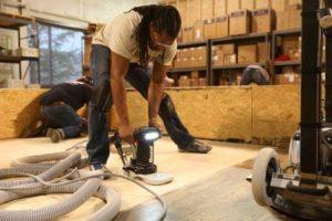 Sanding Equipment Operation & Abrasive Selection
