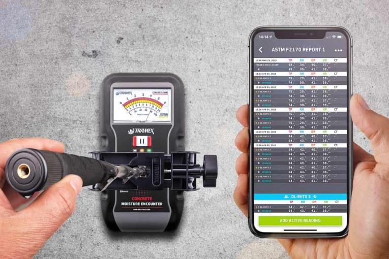 Tramex Launches Concrete Moisture Encounter CME5
