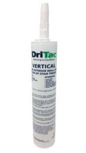 DriTac 2000 Vertical, a polymer-based adhesive