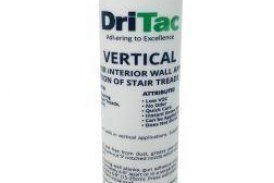 DriTac Introduces: 2000 Vertical, Adhesive for Interior Wall Applications
