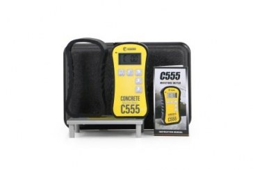 Wagner Meters Launches C555 Concrete Moisture Meter