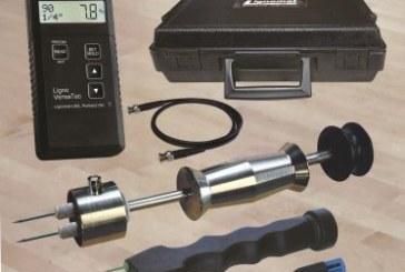 Lignomat's Ligno-VersaTec All-In-One Measuring Kit for Wood Moisture, RH