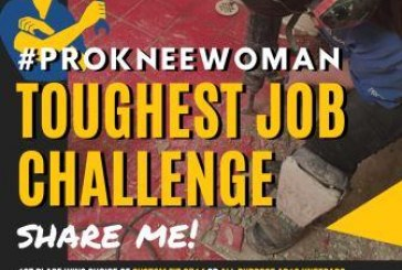 ProKnee Woman Toughest Job Challenge