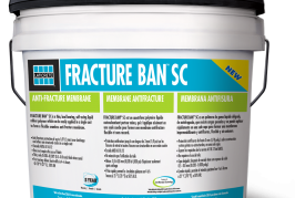 LATICRETE has launched FRACTURE BAN™ SC