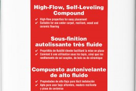Flow and go with MAPEI's Novoplan® HFL self-leveling underlayment
